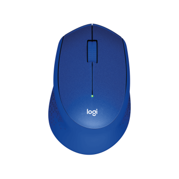 LOG MOUSE WIRELESS M330 SILENT PLUS - BLUE - 910-004910