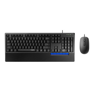RAPOO NX2000 COMBO (KB+MSE) WIRED - ARB - 18820